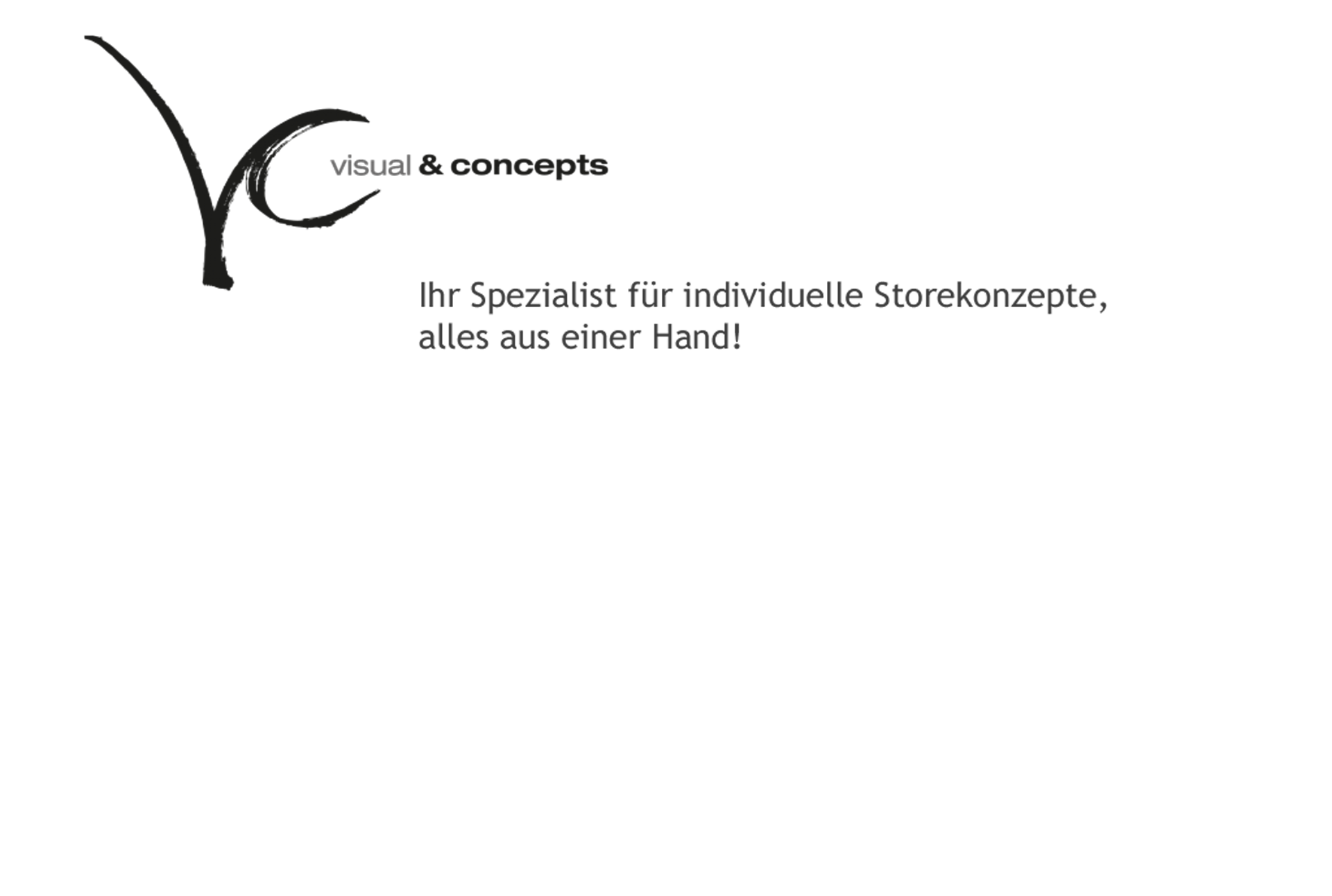 Slider Büro mit Logo